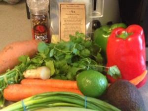 Chicken Stew Ingredients