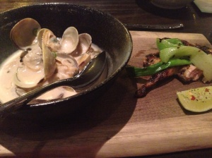 Clams & Grilled Quail