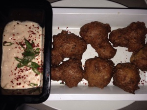 Chickpea Hush Puppies