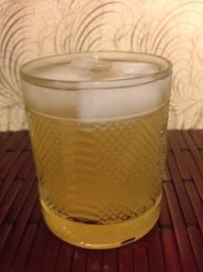 Ginger Beer w/ Dark Amber Agave Nectar