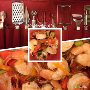 Honey Lemon Shrimp with Veggies