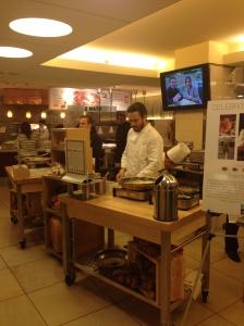 Chef Fabio & team hard @ work