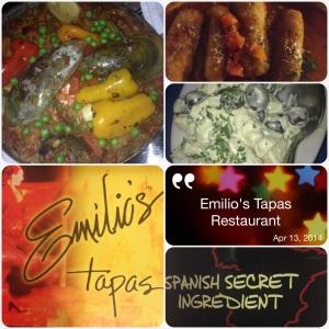 My Experience @ Emilio's Tapas Restaurant