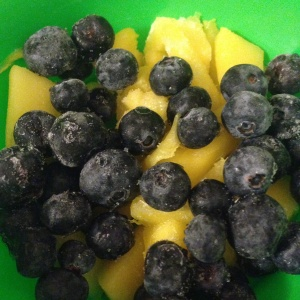 Blueberries & Mango