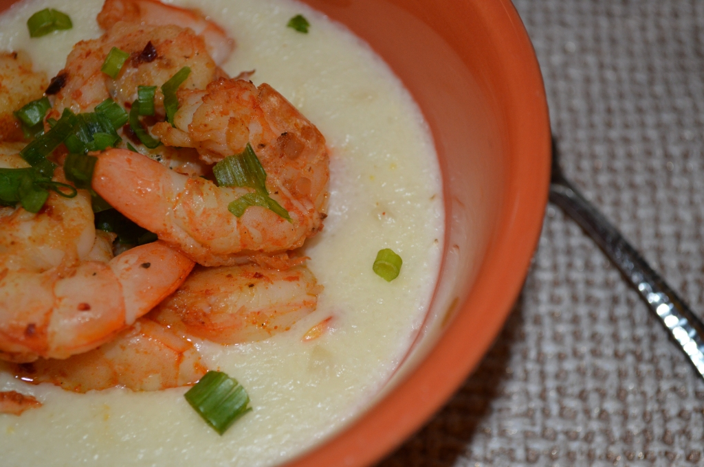 Shrimp & Cheesy Grits
