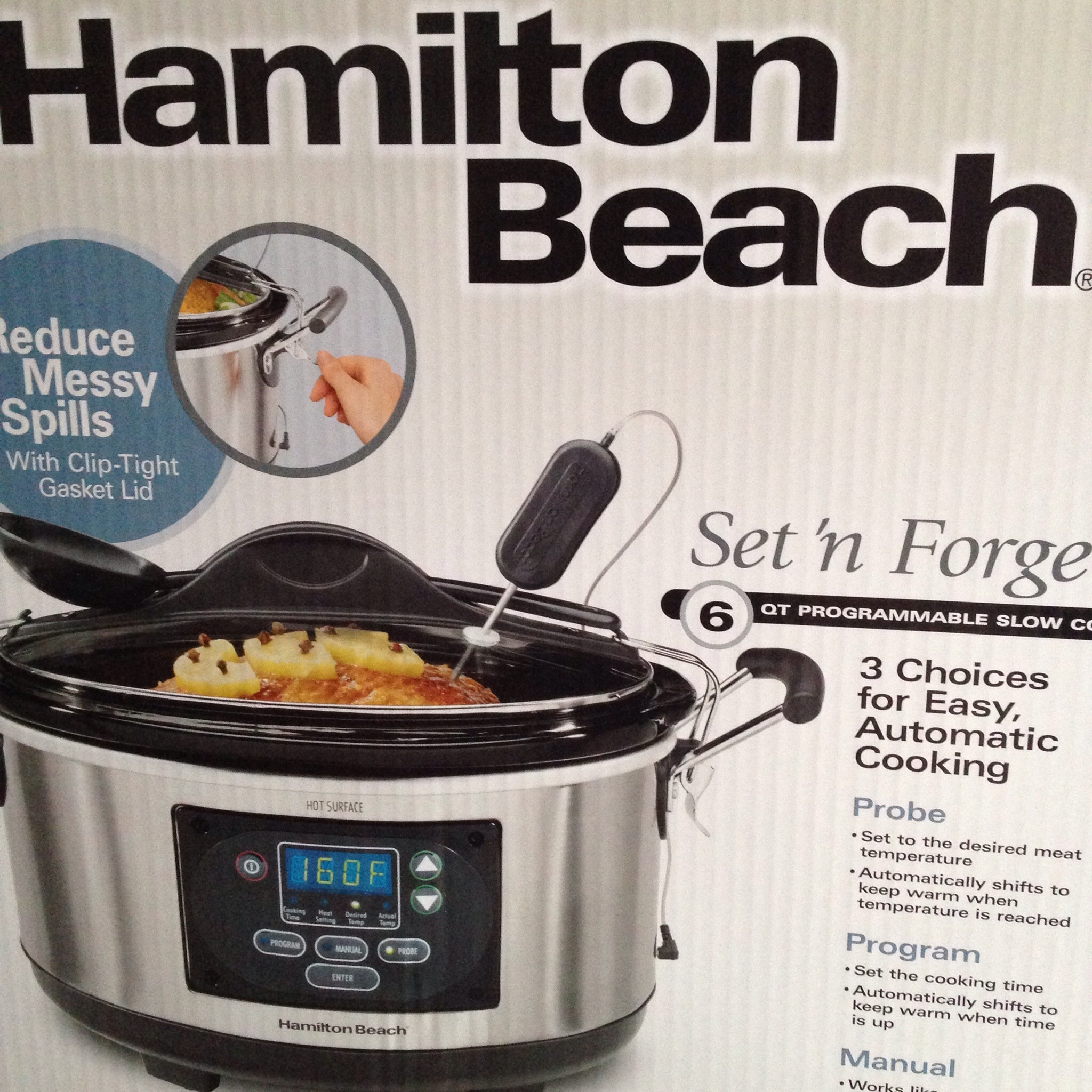 hamilton beach set and forget manual