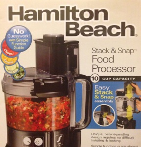 Stack & Snap 10 Cup Food  Processor