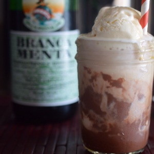 Chocolate Float with Alcohol