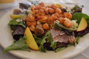 Bleu Cheese Salad with Crawfish @ The Palace Cafe