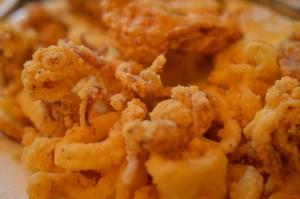 Seafood Half & Half (Calamari & Oysters) @ Mother's Restaurant